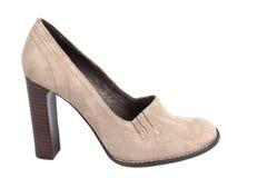 giemzy piętowa wysokości buta kobieta Zdjęcia Stock