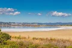 Giens Peninsula And Salt Pan-Hyeres,France Stock Photo