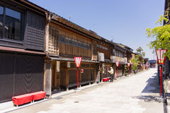 Giesha district in Kanazawa Stock Photos