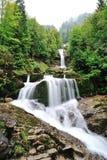 Giessbach Falls in Brienz, Switzerland Royalty Free Stock Image