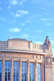 Giessen Theater. The City Theatre of Giessen has been built 1909 with architecture styles of art nouveau and classicism Royalty Free Stock Photo