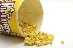 Giet de popcorn royalty-vrije stock foto