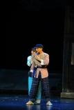 Giet Jiangxi-opera een weeghaak uit Stock Foto
