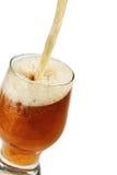Gietend bier Royalty-vrije Stock Foto