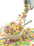 Gietend ontbijt Royalty-vrije Stock Fotografie