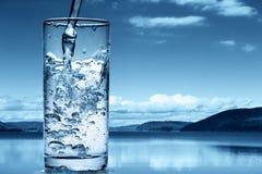Gietend water Royalty-vrije Stock Foto