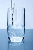 Gietend water Royalty-vrije Stock Foto's