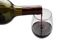 Gietende Wijn Stock Afbeelding