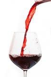 Gietende wijn stock foto