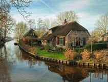 Giethoorn fotografia stock