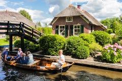 Giethoorn Zdjęcie Royalty Free