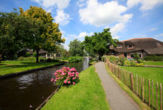 Giethoorn Imagen de archivo libre de regalías