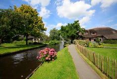 Giethoorn Imagem de Stock Royalty Free