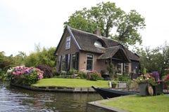 Giethoorn Foto de archivo libre de regalías