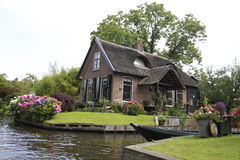 Giethoorn Foto de Stock Royalty Free