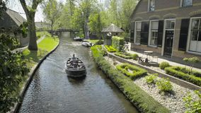 Giethoorn stock video