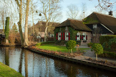 Giethoorn. Stock Photo