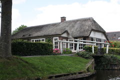 Giethoorn the Dutch Venice Royalty Free Stock Images