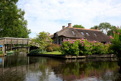 Giethoorn Royalty Free Stock Photo