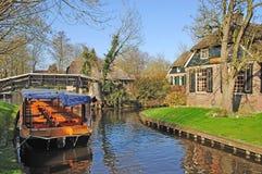 Giethoorn,Ijsselmeer,Netherlands Stock Image
