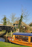 Giethoorn,Ijsselmeer,Netherlands Stock Photo