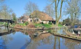 Giethoorn,Ijsselmeer,Netherlands Stock Photo