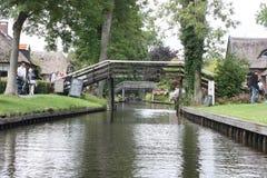 Giethoorn Nederlands Venetië Stock Foto