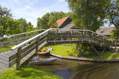 GIETHOORN, NETHERLANDS Royalty Free Stock Photos