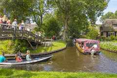 GIETHOORN, NETHERLANDS Stock Photography