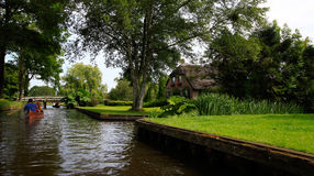 Giethoorn Stock Photo