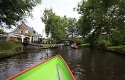 Giethoorn Royalty Free Stock Photos