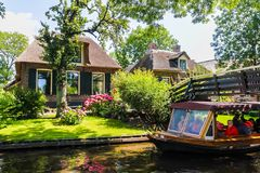 Giethoorn, The Netherlands Royalty Free Stock Images