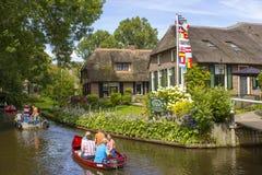 Giethoorn, Países Baixos Fotos de Stock