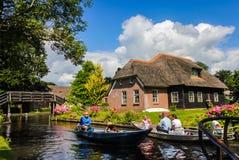 Giethoorn, Paesi Bassi fotografie stock