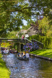 Giethoorn, Pays-Bas Image stock