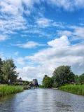 Giethoorn-Stadt in den Niederlanden Lizenzfreies Stockbild