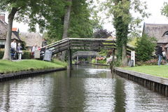 Giethoorn Venise néerlandaise Photo stock
