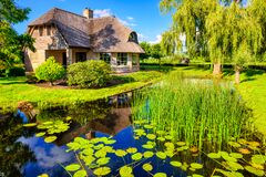Free Giethoorn Village, Netherlands, Known As Stock Photography - 216509592