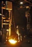 Gietijzerfabriek Stock Foto