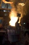 Gietlepel staal Royalty-vrije Stock Foto's