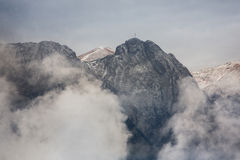 Giewont Royalty Free Stock Photo
