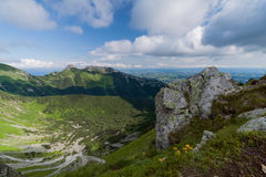 Giewont from Czerwone Wierchy. Royalty Free Stock Images