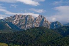 Giewont de Gubalowka. Montañas de Tatra. Polonia. Imagen de archivo libre de regalías