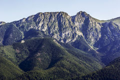 Giewont, famous peak near Zakopane Stock Photo
