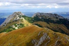 Giewont, krajobrazowa od Tatras góra w Polska Obraz Royalty Free