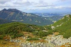 Giewont, montanha do od Tatras da paisagem no Polônia Imagens de Stock