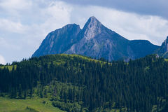 The Giewont Peak Royalty Free Stock Photography