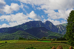 Giewont peak. In Poland in the Europe Royalty Free Stock Image