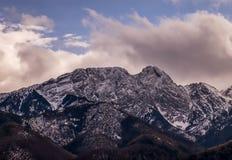 Giewont Peak in Poland Royalty Free Stock Photo