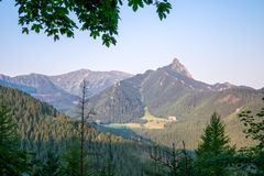 Giewont Peak in Tatra Mountains. Stock Photography